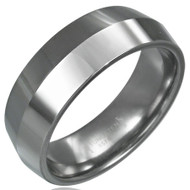 Tungsten Carbide 8.0mm Knife Edge Ring