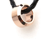 Tungsten Carbide Gold Ring Pendant