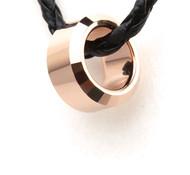 Tungsten Carbide Gold Ring Pendant