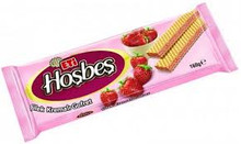 ETI HOSBES DELUXE  STRAWBERRY WAFER (160G)