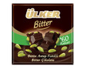 ULKER GOLDEN BITTER CHOCOLATE BAR w/Pistachio (80G)