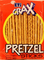 ETI CRAX PRETZEL STICKS (80G)