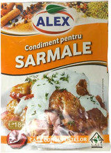 Alex Spices for Stuffed Cabbage (Sarmale) 20 (18g)