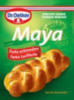 DR. OETKER DRY Instant Dough Yeast (3 pack) KURU MAYA *5 PACK