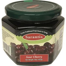 Sarantis Sour Cherry in Sweet Syrup