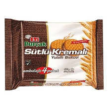 Burcak Digestive Biscuits w/ Cream (4pk) Eti     400g
