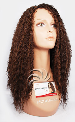 Model Model Equal Brazilian Curl Weave 106