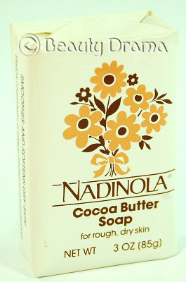 Nadinola Cocoa Butter Soap for rough, dry skin 3 oz
