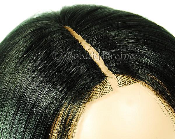 Human Hair Weave Model Model Dreamweaver Invisible Part Closure 43