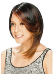 Model Model Equal Band Full Cap Wig Lilac