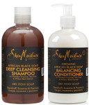 Shea Moisture African Black Soap Shampoo and Conditioner Combo