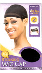 M&M HeadGear Qfitt Stocking Wig Cap 2PCS