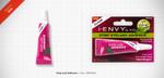 Kiss i ENVY Professional Strip Eyelash Adhesive Glue - Clear, KPEG04A