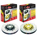 DBA 5000 Series Premium Brake Rotors 2007-2012 (Front Only Brembo Caliper)