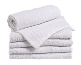White Economy Bath Towels
