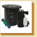 Zoeller Model 72 Package (Pump, Basin, Valve)