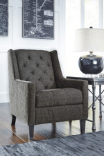 Pennie Charcoal Accent Chair