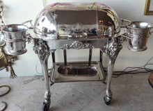 "Antique ""Carving"" Station (meat trolley)"