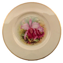 12 Artist Signed Lenox Orchid Plates
