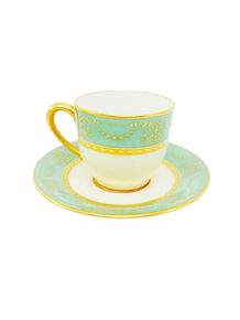 Lenox set of 9 Tea Cup and Saucer
