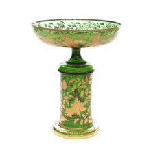 Moser 19th Century Green Center Piece