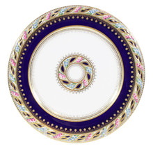 12 Antique Cauldon Plates Custom for Tiffany & Co.