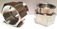 """2"""" Stainless Steel Tri Clover Adapter"""