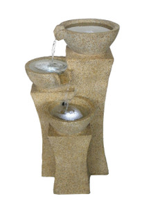 The Veneto 3-teir bowl fountain-  A touch of Italy