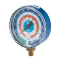 "Yellow Jacket 49251 3-1/8"", Red Pressure, 0-500 Psi, R-134A/404A/407C Certified Gauge (  F)"