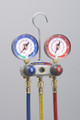 "TITAN™ 2-Valve Test and Charging Manifold With 60"" PLUS II™ RYB, R/B gauges, psi, R12/22/502, °F"