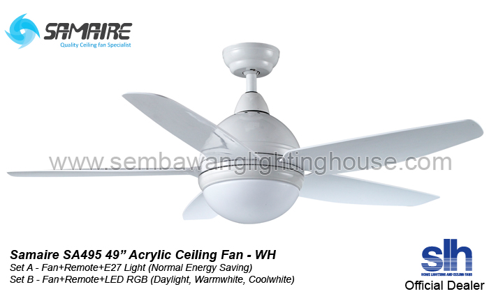 ceiling fan white wh ceiling fan with light in singapore