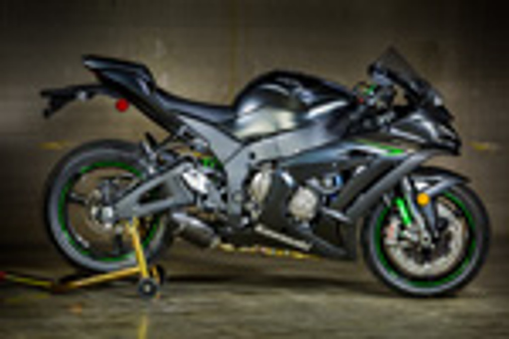 2016-2017 KAW ZX10R Street Slayer Carbon Slip On (Removes Stock Catalytic Converter)