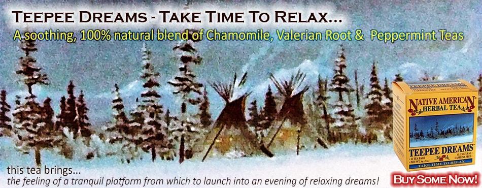 chamomile tea | sleepytime tea | valerian root tea