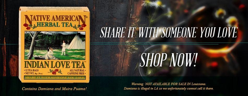 damiana tea | ginseng tea | Muira Puama tea