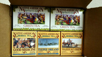 Native American Tea Company Sampler 2 - Shipping Included in Price (USA Only)