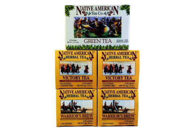 Native American Tea Company - Mini Sampler - Iced Tea Edition - with Recipes