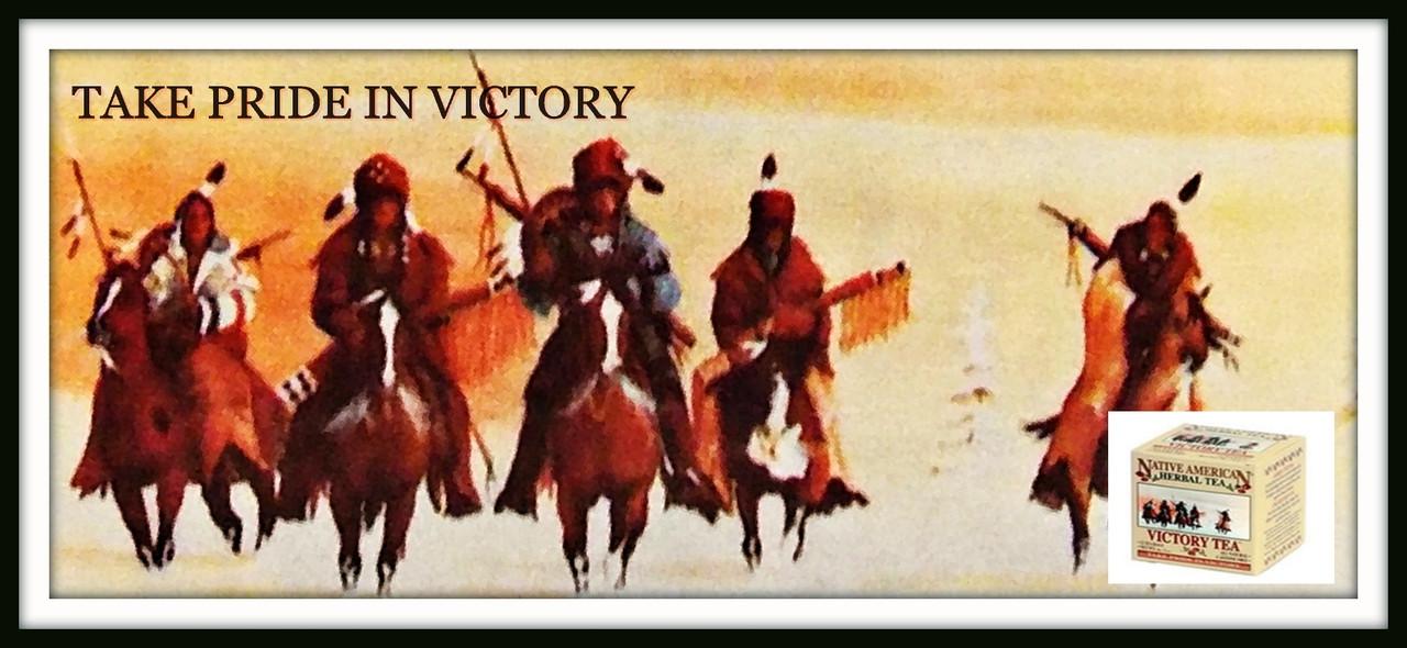 Native American Tea Company - Victory Tea - Take Pride in Victory