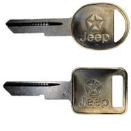 Jeep Key Blank Set GW 1974-1991