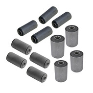 Leaf Spring & Shackle Bushing Complete 12-Piece Set GW 1977-1991