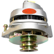 POWERMASTER 200/125 AMP NATURAL COLOR DUAL PULLEY ALTERNATOR GW 80-91