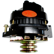 Powermaster Brand 150/100 Amp Black Dual Pulley Alternator GW 1978-1991