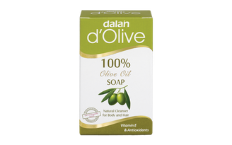Produced from 100% olive oil with 70 years of experience, d'Olive Olive Oil Soap is a natural cleanser for your skin and hair. Its high Vitamin E and Antioxidant content nourishes, moisturizes and provides natural softness, as it cleans. Our olive oil soap, which can also be used as a solid shampoo, is effective against excess oil on scalp, dandruff and hair loss. Upon continual use, it will strengthen and add shine to your hair.