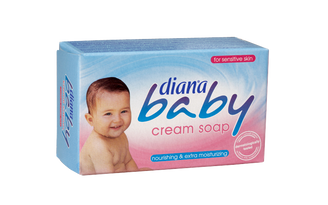 Diana Baby  With its creamy foam, allantoin and enriched moisturizers diana baby cream soap restores the moisture lost on your baby's skin during bath time. It softens and smoothes your baby's delicate skin. Diana baby cream soap is dermatologically tested, you can safely use for your baby and for yourself.  shampoo, conditioner, hair, hair care, haircare, pantene, palmolive, london, uk, england, arsenal, chelsea, manchester, tottenham, love, like, follow, twitter, Facebook, apple, organic, microsoft, soap, cosmetics, moisturizer, natural, cosmopolitan, vogue, dalan, haci sakir, haci, dove, duru, evyap, arko, the body shop,instagram, london