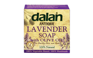 Roxy Dalan Antique Lavender Discover the incredible harmony of relaxing fragrance of Lavender and Dalan's Traditional Olive Oil soap.