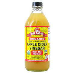 Bragg Apple Cider Vinegar is a certified organic, unfiltered, unheated and unpasteurized form of this incredible health-promoting product.  Containing Mother of Vinegar, which occurs naturally as strand-like enzymes of protein molecules, that has many wide reaching health benefits.  Bragg Organic Raw Apple Cider Vinegar is made from delicious, healthy, organically grown apples. Processed and bottled to the highest standards and Certified Organic, Kosher and Non-GMO ensuring it is full of natural goodness. It's a wholesome way to add delicious flavor to salads, veggies and can be used as seasoning for most meals.  Apple Cider Vinegar is rich in enzymes and potassium; these will help in supporting a healthy immune system and has been associated with weight management, improved digestion and removal of toxins from the body. On the outside of the body it can help maintain healthy skin and also may help to soothe muscle pain from intense exercise.      Certified organic and non-GMO.     Excellent for use as a dressing and seasoning.     Many wide reaching health benefits.     Supports healthy immune function, skin and digestion      Gluten free