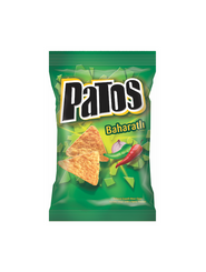 PATOS TORTILLA CHIPS SPICY 125GR