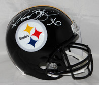 Jerome Bettis Pittsburgh Steelers Autographed Full Size Replica Helmet