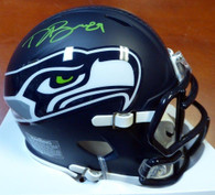 Doug Baldwin Seattle Seahawks Autographed Mini Helmet