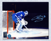 Curtis Joseph Toronto Maple Leafs Autographed Spotlight 8x10 Photo