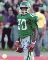 Don Narcisse Saskatchewan Roughriders Autographed  8x10 Photo
